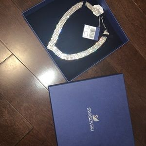 Swarovski necklace never before worn